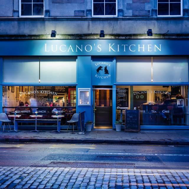 Lucanos Kitchen Edinburgh Menu