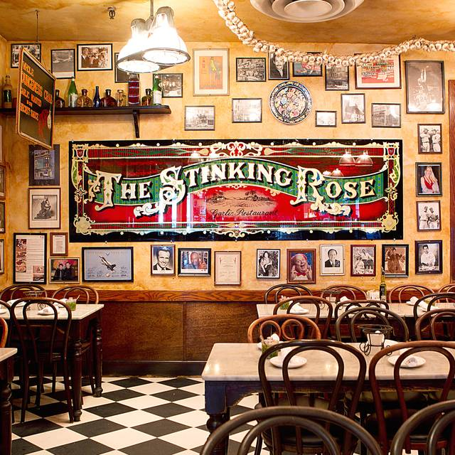 Dining Room - The Stinking Rose, San Francisco, CA