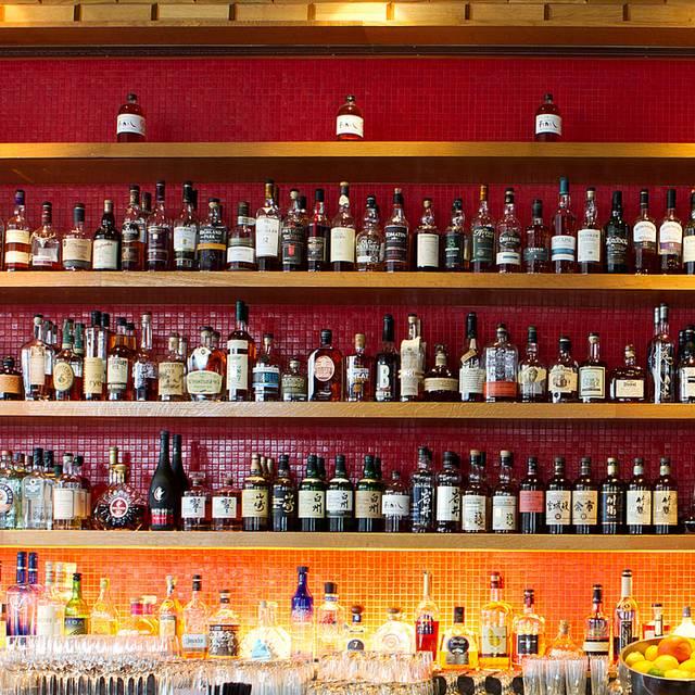 Back Bar - Tsunami - Mission Bay, San Francisco, CA