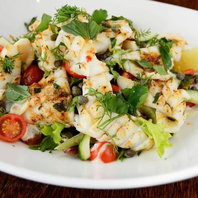Calamari salad - Rococo Glenferrie Road, Hawthorn, AU-VIC