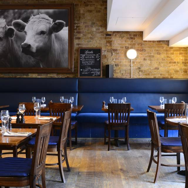 Restaurant Top - The Butcher & Grill, London