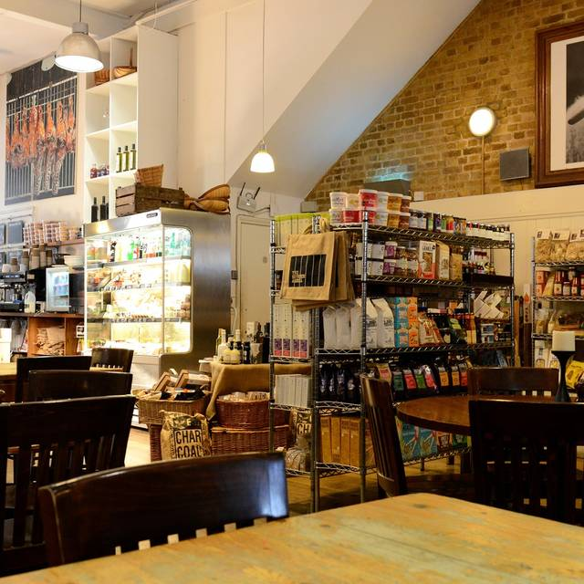 Shop & Bar Area - The Butcher & Grill, London