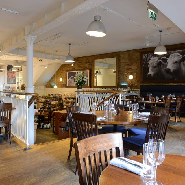 Restaurant Retail View - The Butcher & Grill, London