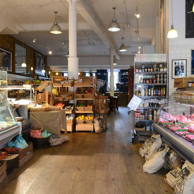 Shop Entrance - The Butcher & Grill, London