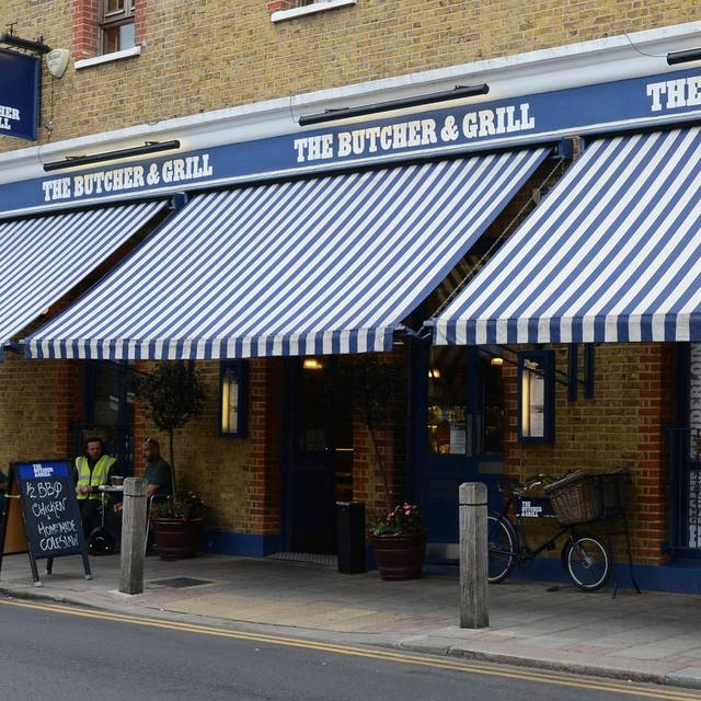 Frontage Crop - The Butcher & Grill, London