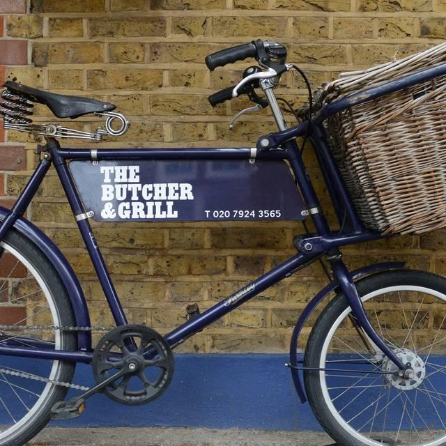 Bike - The Butcher & Grill, London