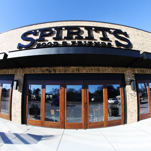 Spirits Food & Friends, Alexandria, LA