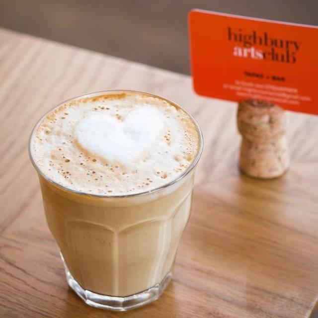 Coffee - Highbury Arts Club, London
