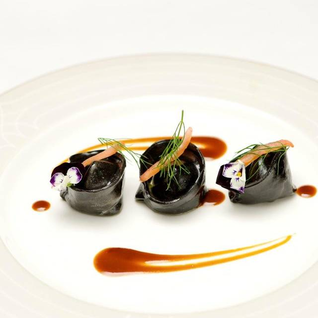 Squid Ink Gnocchetti With Seafood - The Jazz Lounge at The Wellesley London, London
