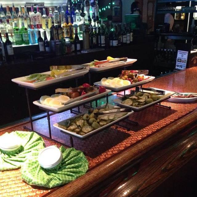 Bloodymarybar - Brady's Tavern, Beverly Hills, MI