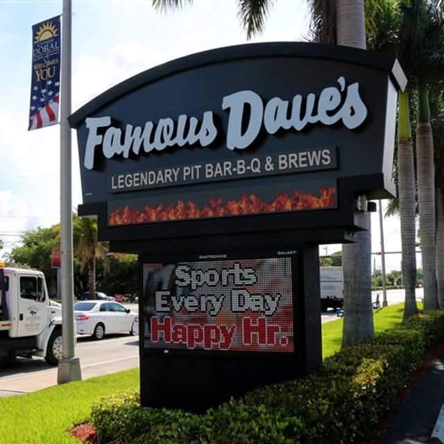Famous Dave's - Doral, Doral, FL
