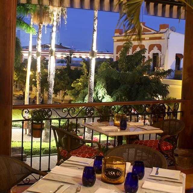Portal - Restaurante Casa 46, Mazatlán, SIN