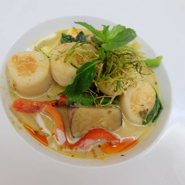 Scallops Green Curry  - Arawan Thai Bistro & Dessert, Las Vegas, NV