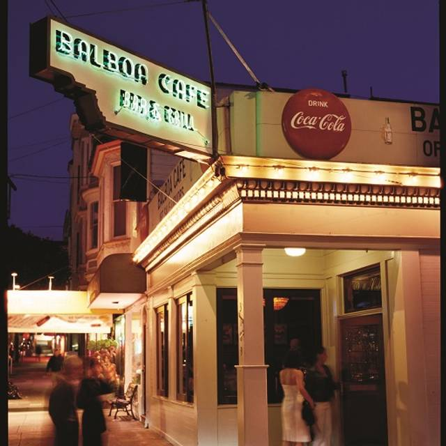 Balboa Cafe Fillmore San Francisco