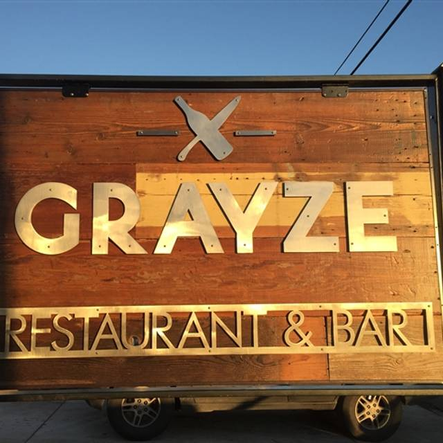 Grayze Restaurant San Antonio Tx Opentable