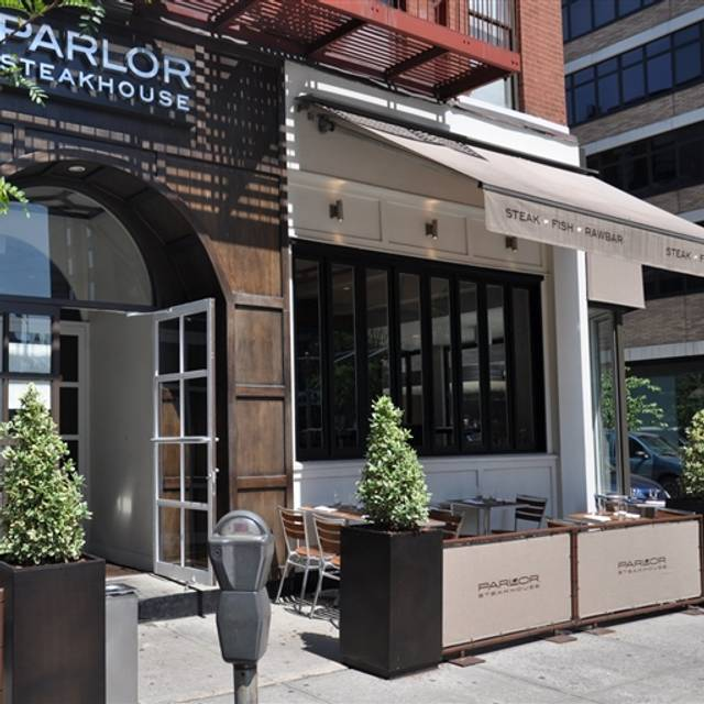 Parlor steak fish restaurante new york ny opentable for Parlor steak and fish