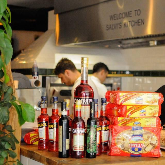 Salvis Interior Pass - Salvi's Mozzarella Bar, Manchester