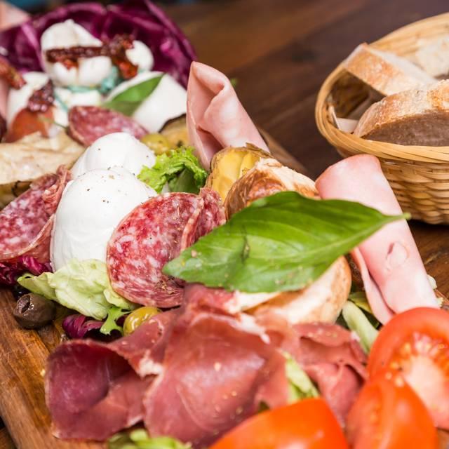 Mozarealla And Meat Board - Salvi's Mozzarella Bar, Manchester