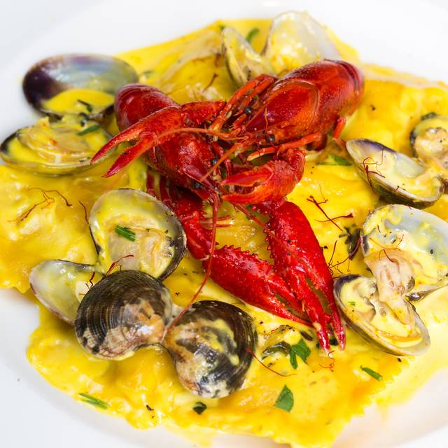 Lobster Raviolli - Salvi's Mozzarella Bar, Manchester
