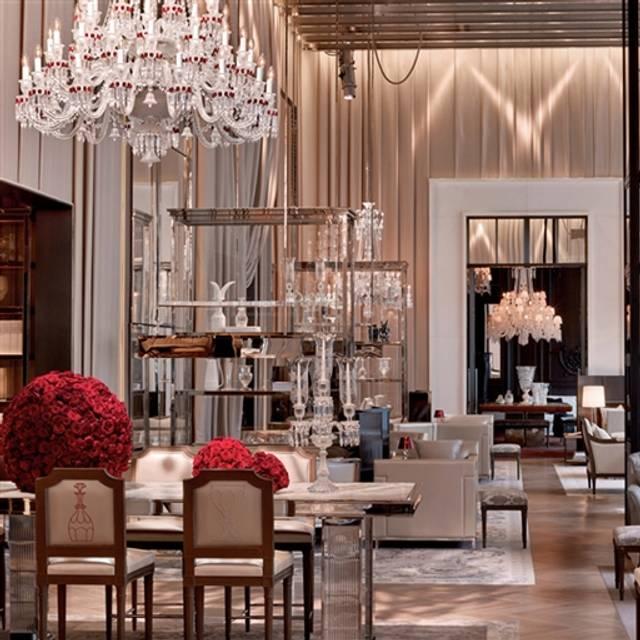 Grand Salon At Baccarat Hotel Residences New York Restaurant