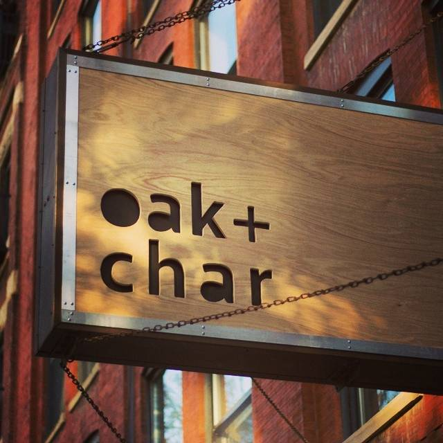 Oak + Char, Chicago, IL