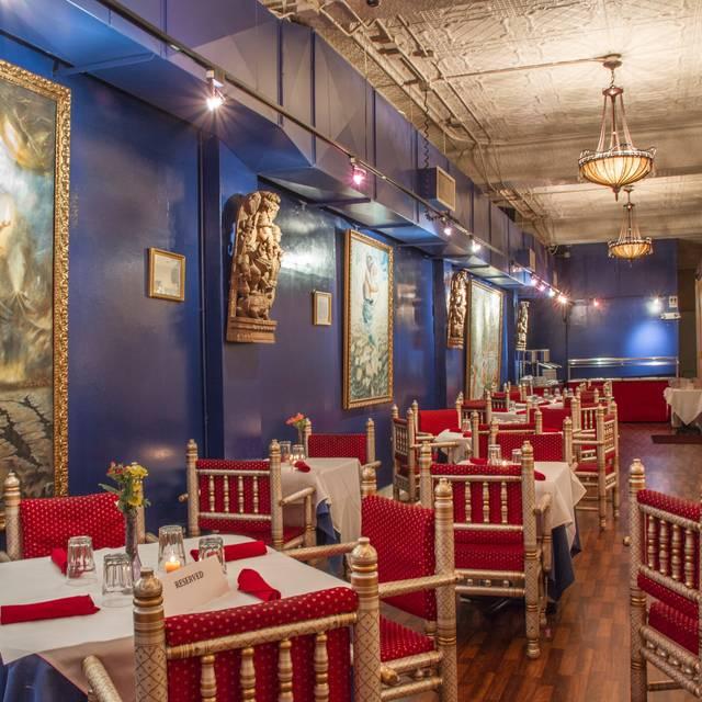 Main Dining Room - Nirvana Indian Cuisine, New Orleans, LA