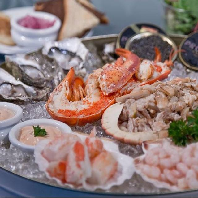 King's Seafood Platter For - Caviar House & Prunier, London