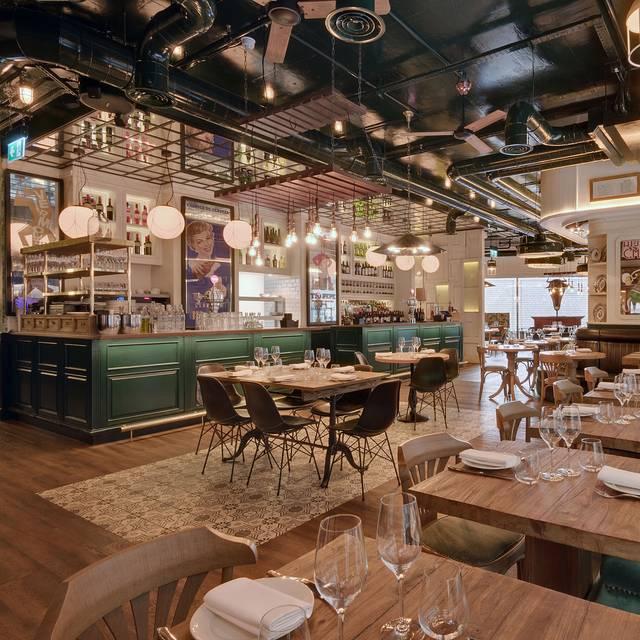 Upper Floor  Low - Iberica Victoria, London