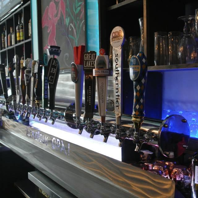 Bar - Acropolis OPA, Buffalo, NY