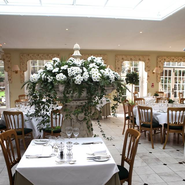 The Orangery at the Powder Mills Hotel, Battle, East Sussex