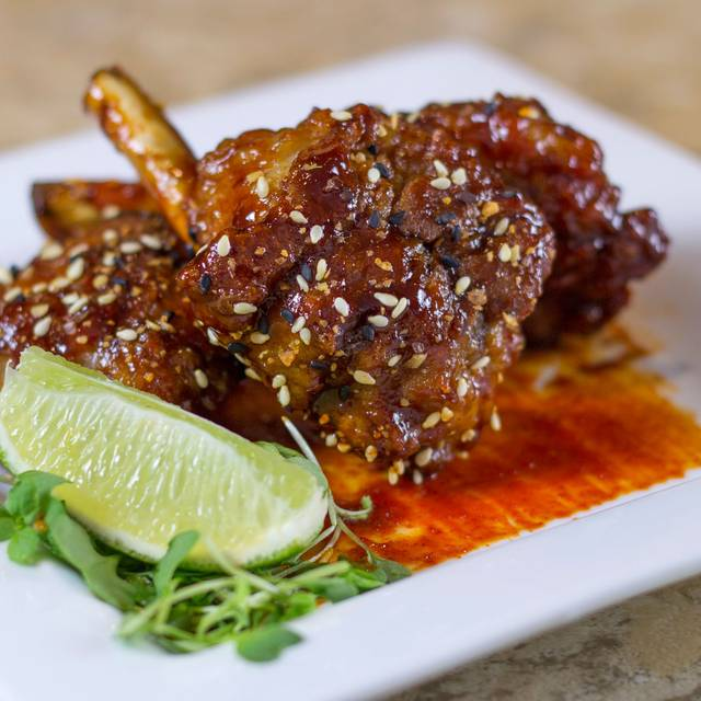 Duck Wing Lollipops - Seasons 52 - Oak Brook, Oak Brook, IL