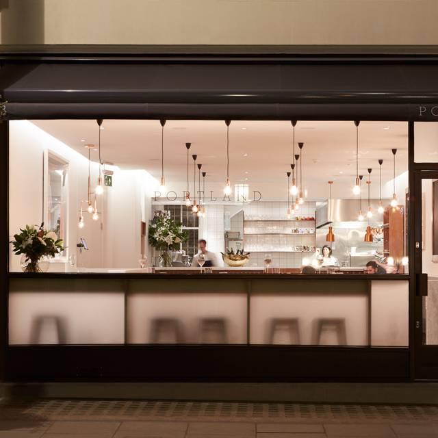 Portland Restaurant, London