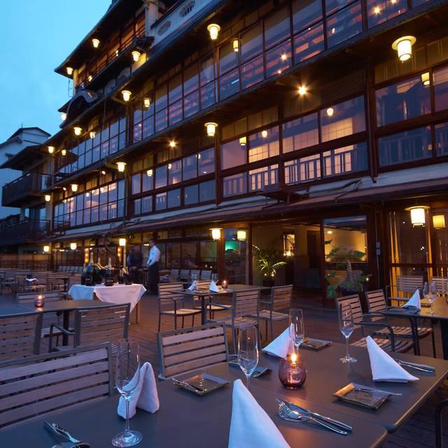 川床2 - Funatsuru Kyoto Kamogawa Resort, Shimogyo-ku, Kyoto-shi, Kyoto