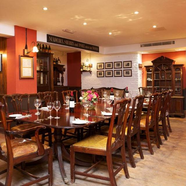 Private Dining Room - Boot and Flogger, London