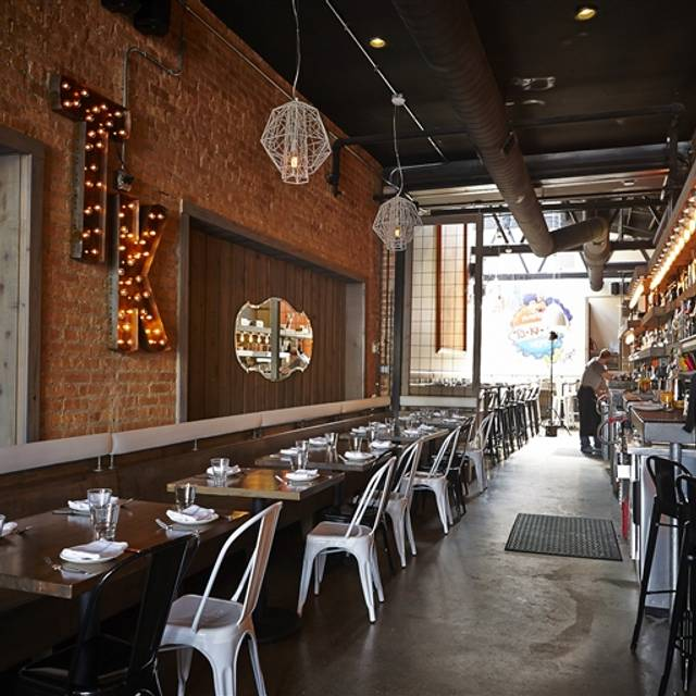 Takito kitchen wicker park chicago il opentable for 0pen table chicago