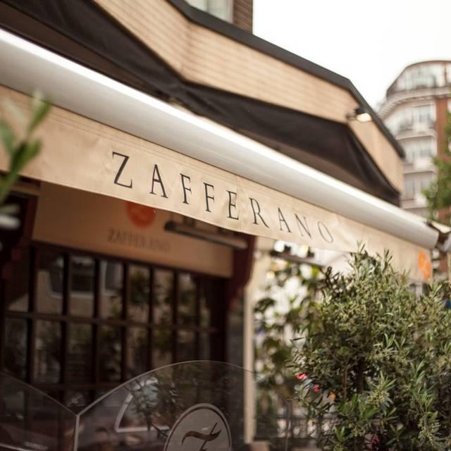 Mg - Zafferano Restaurant, London