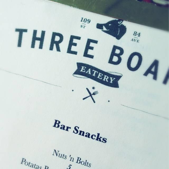 Three Boars Eatery, Edmonton, AB