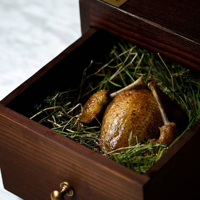 Pigeon Smoked In Pine - Typing Room, London