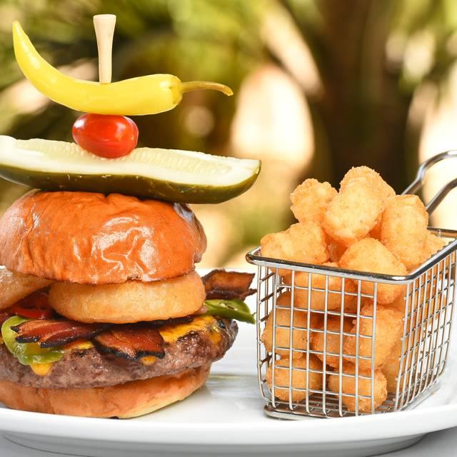 Relish Cowboy Burger - Relish Burger Bistro - The Phoenician, Scottsdale, AZ