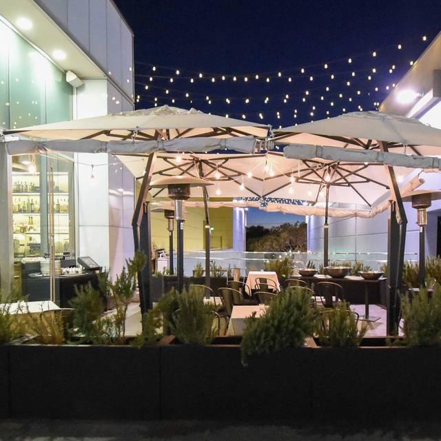 Century City Patio At Night  - Obica Mozzarella Bar, Pizza e Cucina - Century City, Los Angeles, CA