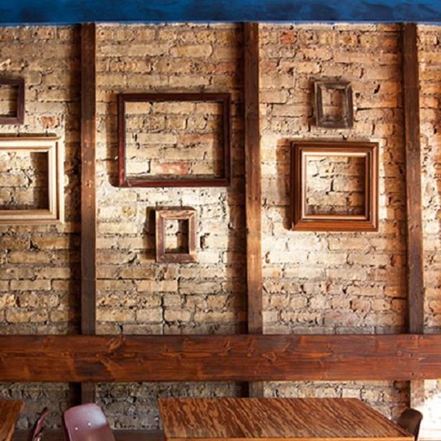 Brick Wall - Shaman by Chilam Balam, Chicago, IL
