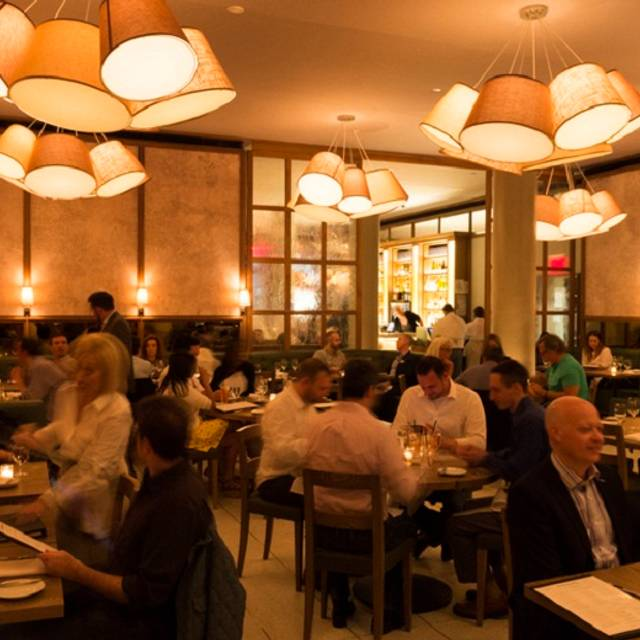 The+gander+dining+room+with+guests Evan+sung - The Gander, New York, NY