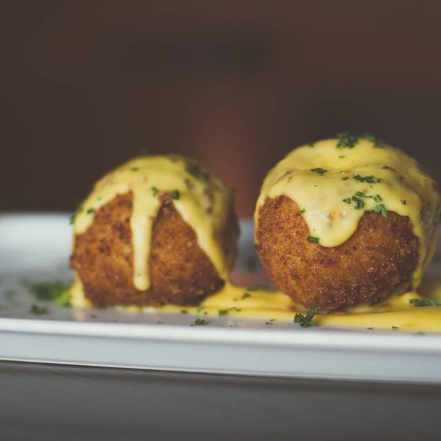 Macaroni and Cheese Balls - Tribeca Tavern, Cary, NC