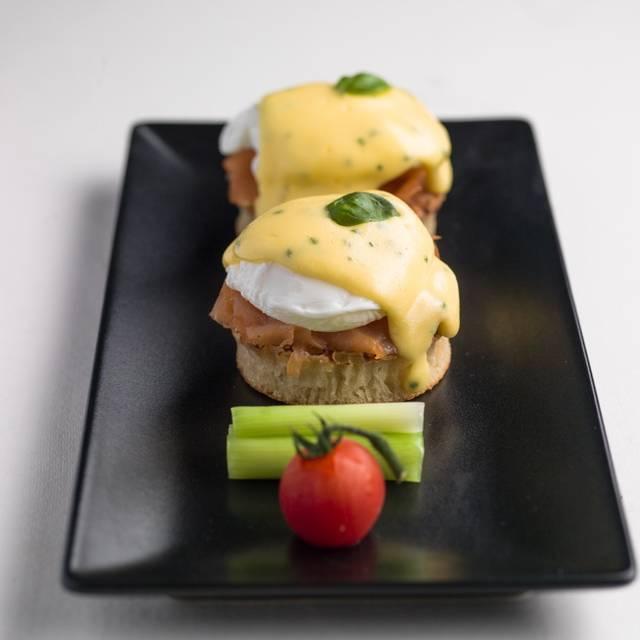 Eggs Benedict-san () - Chi Kitchen- Oxford Circus, London