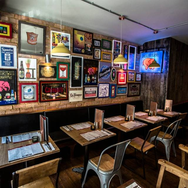 Belgo Soho Restaurant - London, | OpenTable