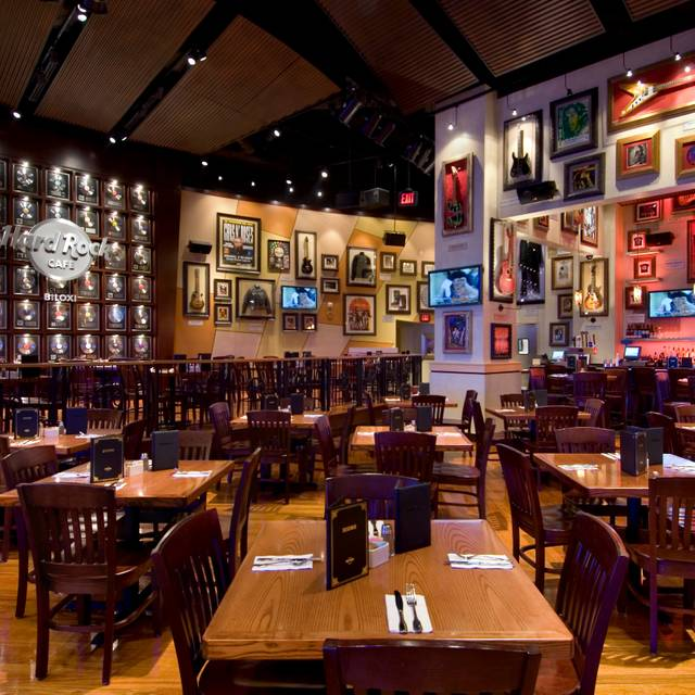 Hard Rock Cafe Biloxi Interior Ms