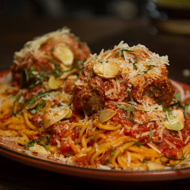 Spaghetti And Meatball - Scaddabush Italian Kitchen & Bar - Yonge & Gerrard, Toronto, ON