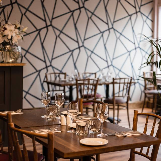 Restaurant interior - New Chapter, Edinburgh