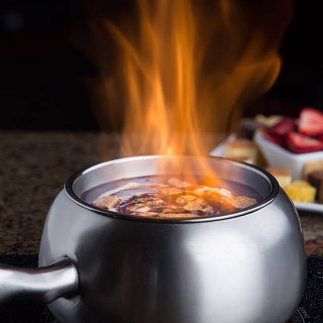 Smores Chocolate Fondue - The Melting Pot - Poughkeepsie, Poughkeepsie, NY