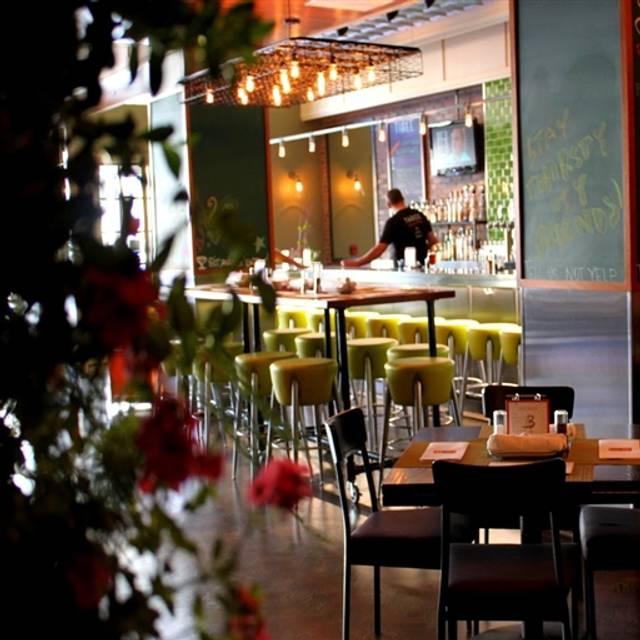 Three Restaurant & Bar, San Mateo, CA